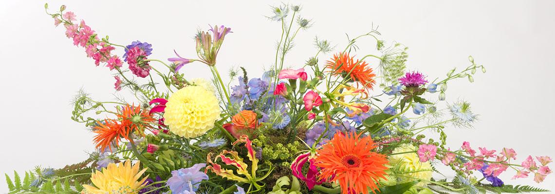 bloemenfee-rouwboeket
