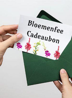 Cadeaubon Bloemenfee